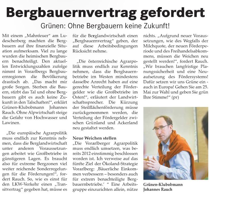 Bergbauernvertrag_gefordert_Ohne_Bergbauern_keine_Zukunft_Bludenzer_Anzeiger_April_2014